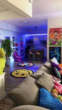 Dream House Interior, Dream Home Design, Home Interior Design, Apartamento New York, Hypebeast Room, Appartement Design, Aesthetic Room Decor, Room Ideas Bedroom, Dream Rooms