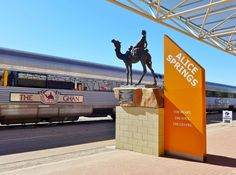 The Ghan at Alice Springs Railway Station, Alice Springs, Northern Territory Travel Oz, Train Travel, Cool Countries, Countries Of The World, Alice Springs Australia, Litchfield National Park, Terra Australis, Travel Stroller, Aussies