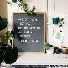 Felt letter board inspiration quotes. Felt letter boards in Europe.