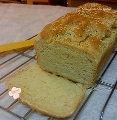 Cozinhando sem Glúten: Pão de banana com farinha de grão de bico - zero glúten, zero açúcar e zero caseína