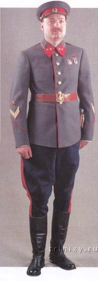 1936-1941 Soviet Red Army generals and marshals' parade dress uniform.