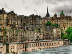 Cómo no: Mi querido Edimburgo. Edinburgh Oldtown
