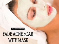 Fade acne scar with homemade mask