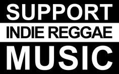 Support Indie reggae music