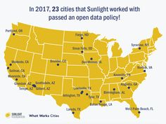 Open data policy, participation, and progress: Sunlight Open Cities' 2017 year in review : Sunlight Foundation