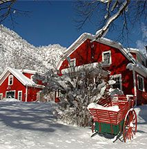 The Avalanche Ranch, near Redstone, CO:  We have stayed many times on this property.  Cabin 11 is our favorite! LOVE IT!