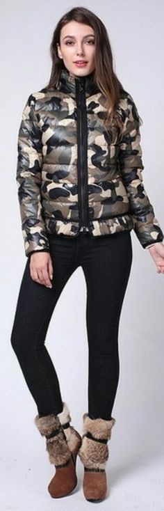 Military Fashion, Winter Jackets, Winter Coats, Winter Vest Outfits