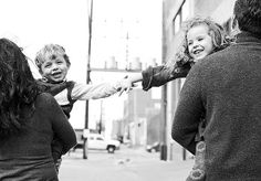 Brother Sister Portrait Ideas | brother and sister holding on | Family Picture Ideas