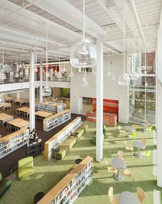 Plainsboro Library design Interior 3