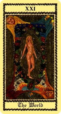 The meaning of The World from the Medieval Scapini Tarot deck: You are in a timeless state of grace where all is well. The World Tarot Card, Medieval, Dylan Dog, State Of Grace, Tarot Major Arcana, Tarot Card Meanings, Mother Goddess, World Images, Circle Of Life