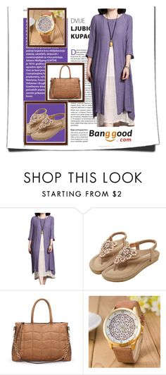 """8/2# Banggood"" by hazreta-jahic ❤ liked on Polyvore"