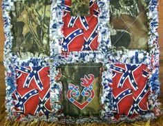 Mossy Oak Camo Rebel Confederate Flag Purse Handbag Tote on Etsy, $42.00