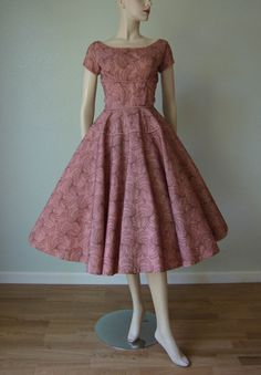 Early 1950s Tulle Over Taffeta New Look Party by KittyGirlVintage