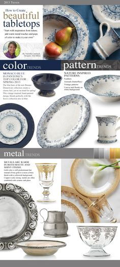 Trends: How to Create beautiful Tabletops