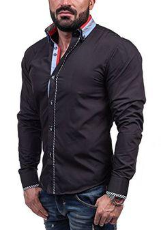 Hemd Blau – Eterna Comfort Fit.  mode  ootd  outfit  fashion  style  online   BOLF 6874 Schwarz 93a3707756