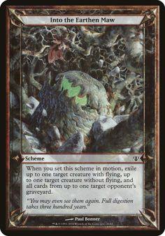 Scheme - Archenemy - Into the Earthen Maw