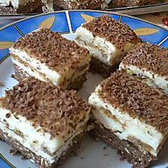 Hungarian Recipes, Hungarian Food, Holiday Dinner, Winter Holiday, Tiramisu, Ham, Cake Recipes, Muffin, Goodies