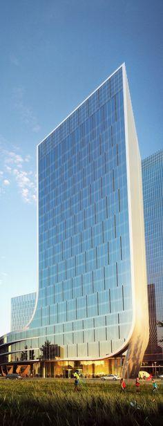 World of Architecture: Impressive Fangda Business Headquarters