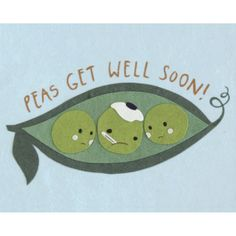 "Handmade in the Philippines | $5.50 This ""Peas Get Well"" card is lovingly handcrafted in the Philippines by women survivors of sex trafficking. The card incorporates a variety of handmade, recycled papers, making it environmentally sustainable, too. Envelope included. 4.5"" x 5.75""."