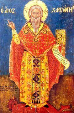 Saint Haralambos.