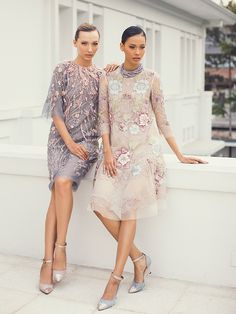 biyan 2 Tulle Dress, Lace Dress, Dress Up, Lovely Dresses, Simple Dresses, Model Dress Kebaya, Dress Brokat, Ideias Fashion, Evening Dresses