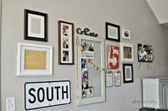 DIY Gallery Wall- She's Crafty Crafty