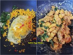 "Recently there is this "" salted egg yolk "" craze going on in Singapore where you can find restaurants and cafes coming up with innovative..."