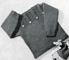 Pullover Pattern- really cute pattern. I saw a little girl wearing it.