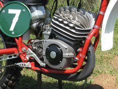 CZ 250 engine - nice finwork