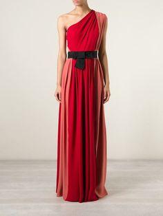 Lanvin One Shoulder Evening Gown - Julian Fashion - Farfetch.com