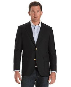 Brooks Brothers Three Button Navy Sack Blazer $598