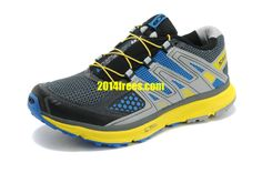 #frees30 org for Cheap Salomon XR Mission Mens Trail Dark Grey Bright Yellow Water Blue Salomon Shoes   #Blue #Womens #Sneakers