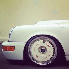 Sweet rims up close...Porsche BBS