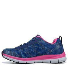 best loved f39a5 ff521 Skechers Work Women's Health Care Pro Work Shoes (Navy / Pink). Kvinders  SundhedOxfordskoPæne Sko