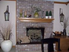 Tips for Painted Fireplace Brick