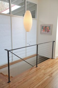 Metal railing - contemporary - staircase - seattle - ID by Gwen