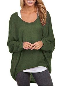 ZANZEA Women's Sexy Long Batwing Sleeve Loose Pullover Ca... https://smile.amazon.com/dp/B0747BXP5C/ref=cm_sw_r_pi_dp_x_8xFbAbSBBCAW1