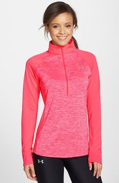 Under+Armour+'Twisted+Tech'+Half+Zip+Top+available+at+#Nordstrom