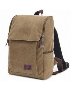 Good&god Vintage Canvas Backpack for School Laptop Messenger Bag for 14.1-inch Pc Macbook Pro Fits All Ipad Generations Including Ipad4 by DewanggaOli on Etsy https://www.etsy.com/listing/263124117/goodgod-vintage-canvas-backpack-for