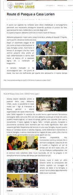 Dal Blog del clan AGESCI di Pietra Ligure