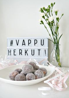Pieces of Miracles: Rahkamunkit #vappu #kruoka