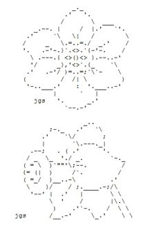small gun ascii art