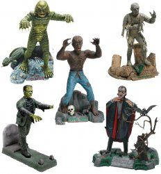 Revell Out Production Model Kits | Thumbnail of Revell Universal Monsters Set of 5 model kits