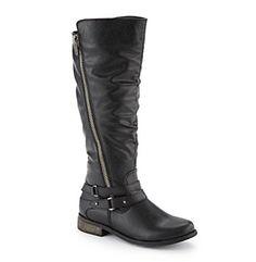 "Rampage® ""Idella"" Knee High Moto Boots"