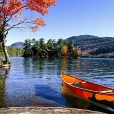 """Lake George, NY What a beautiful place this would be during fall or spring. I've always wanted to go to Lake George and stay at one of the great """"ole"""" resorts I've read about over the years. Lake George Ny, Lake George Village, Summer Vacation Spots, Lakefront Property, Adirondack Mountains, Lake Life, Best Vacations, The Great Outdoors, Kayaking"""