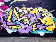 123Klan Rio #klor #graffiti #street-art