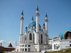 Kul Sharif Mosque in the #Kazan Kremlin, Russia
