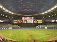 Olympic Stadium - history, photos and more of the Montreal Expos former ballpark Baseball Park, Major League Baseball Teams, Baseball Games, Baseball Players, Baseball Field, Steve Rogers, Olympic Stadium Montreal, Montreal Ville, Montreal Quebec