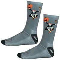 Girls Lacrosse Sublimated Mid Calf Socks Headless Horseman. Fun Halloween Socks for Lax Girls! LuLaLax.com