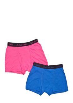 Calvin Klein  2-Pack Boxer Briefs Underwear Boys 4-20